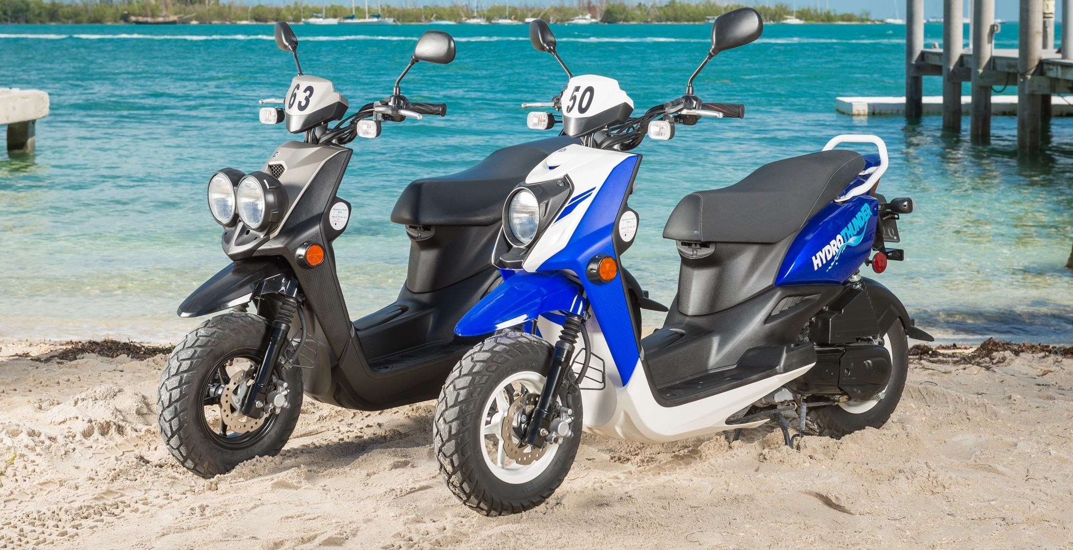 Yamaha Scooters In Key West